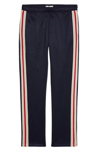 Stripe Trim Track Pants