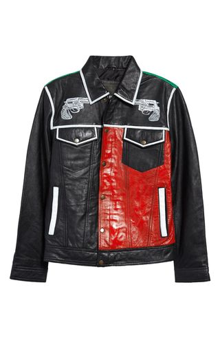 Overdrive Reworked Leather Jacket