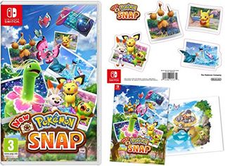 New Pokémon Snap (Nintendo Switch) + Double Sided Poster + Sticker Sheet