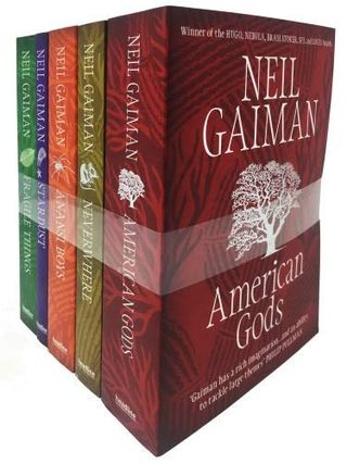 American Gods 5-book collection set by Neil Gaiman