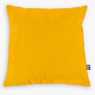 Coussin d'intérieur/extérieur rucomfy, lot de 2, jaune