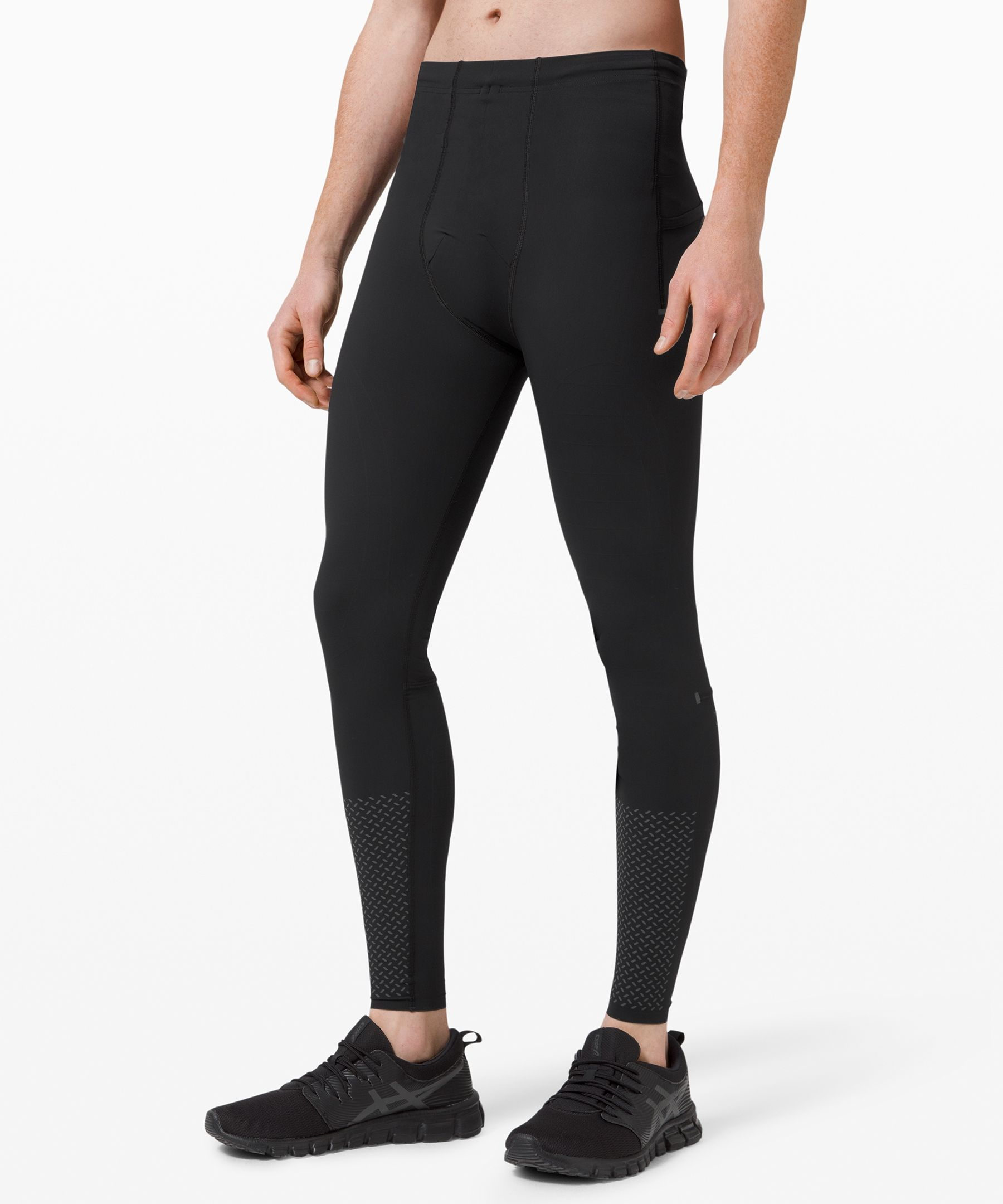 Mens Compression Pants Gym Sport Base Layer Leggings Running Fitness Trousers