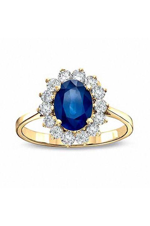 Sapphire Engagement Rings - 14 Sapphire Engagement Rings We Love