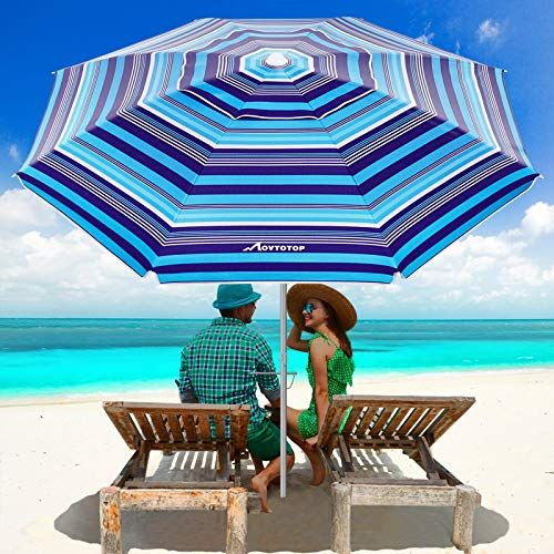 15 Best Beach Umbrellas For Wind And Sun Protection 2021