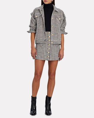 Coco Tweed Mini Skirt