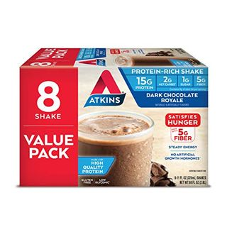 Gluten-free dark chocolate protein shake