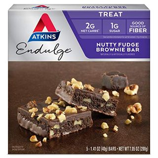 Fudge Nut Brownie Bars
