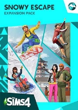 The Sims 4 Snowy Escape (Origin code)