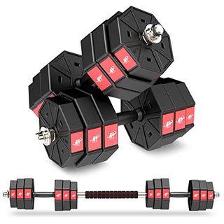 Leadnovo Adjustable Weights Dumbbells Set