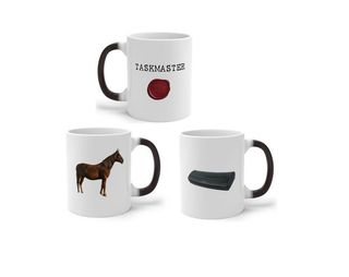 عبوة كوب سحري من Taskmaster 'Horse or Laminator'