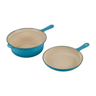 Le Creuset Saucepan with Skillet Lid