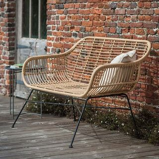 Hampstead Rattan Bench