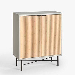 Ridge Storage Cabinet, Grey