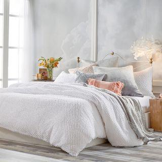 Peri Home Dot Fringe Comforter & Sham Set