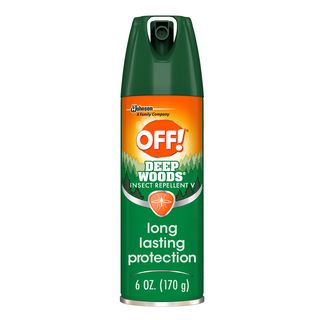 close!  Insect repellant in deep forest V
