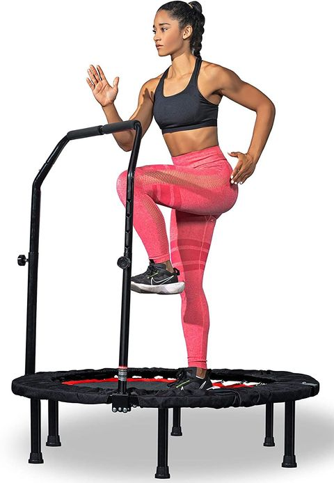 Eva Longoria Shows Off the Results of Her Mini Trampoline Workouts
