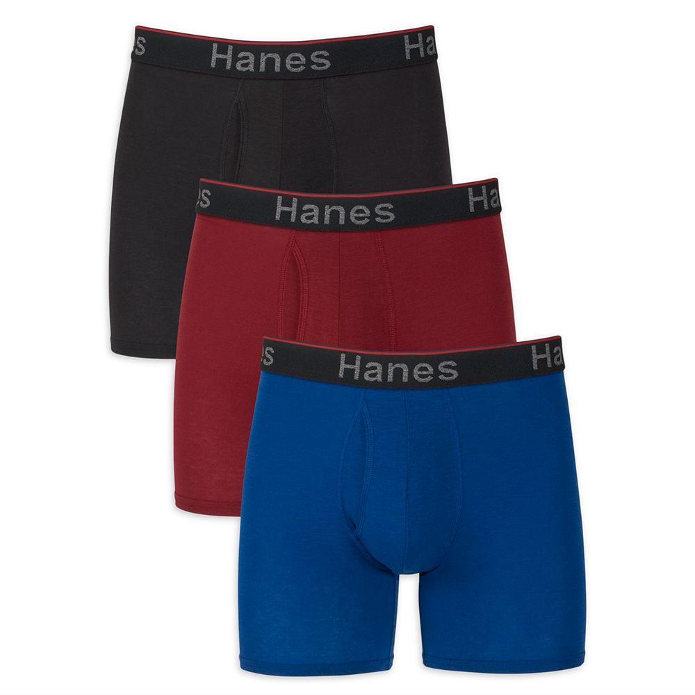 ASTEORRA Mens Boxers Multi Pack Underwear for Men Cotton Mens Boxer Shorts Athletic Pouch Underwear