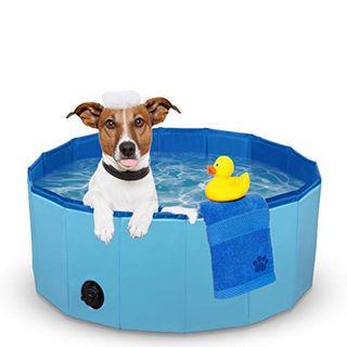 Foldable paddling pool for pets