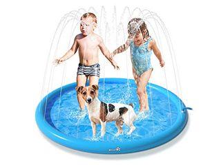 Pecute sprinkler pad for dogs & children