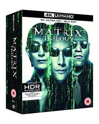 The Matrix Trilogy Blu-ray box set [4K Ultra HD]