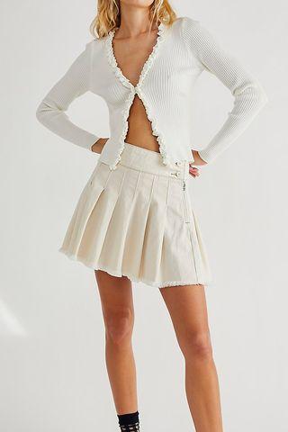Private Skool Pleated Skirt