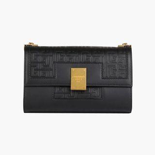 Medium Embossed Leather Bag