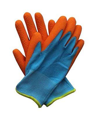 Briers Junior Digger Gloves Orange & Blue