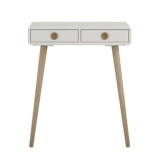 Softline Console Table, £89, Dunelm