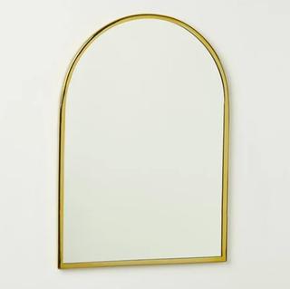 Archway Gold Wall Mirror, Oliver Bonas, £98
