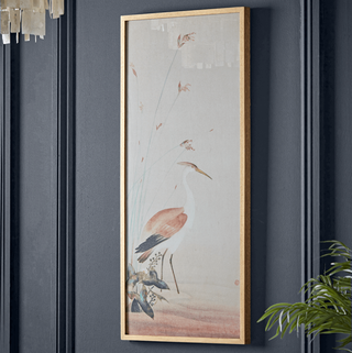 Wild Crane Framed Print, Cox & Cox, £175