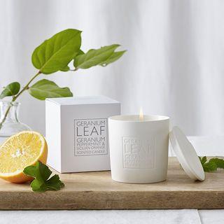 Geranium Leaf Candle, The White Company, £24