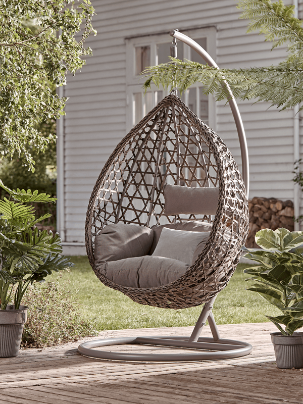 26 Of The Best Hanging Egg Chairs To, Hanging Egg Chair Outdoor Uk