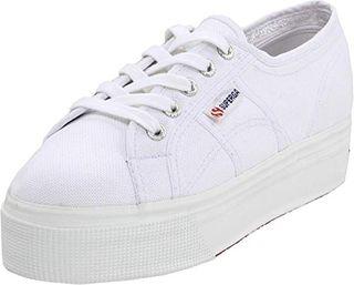 Superga womens 2790 Acotw Platform Fashion Sneaker, White