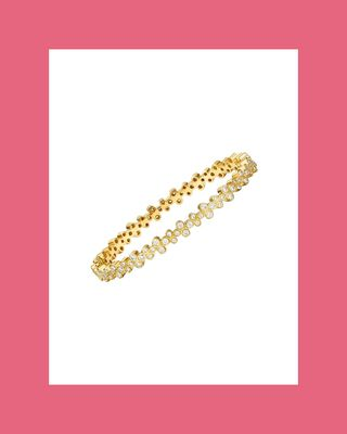 18K Diamond Trio Eternity Bracelet