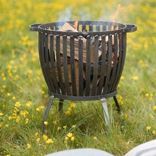 Industrial Fire Pit In Two Sizes