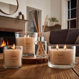 Serene Lavender and Pine Candle, Dusk, from £8.40