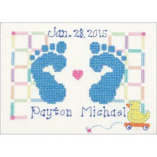 Baby Feet Cross Stitch Kit