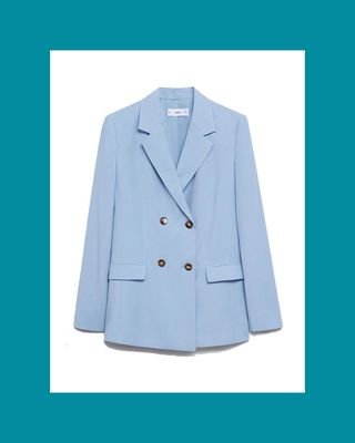 Patterned Suit Blazer
