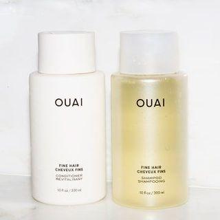 Ouai Fine Shampoo & Conditioner
