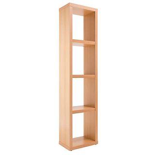 Maine Slim Oak Finish Bookcase, Dunelm, £99