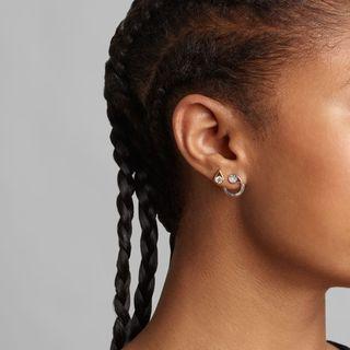 Single Left 0.25 Carat Stud Earring