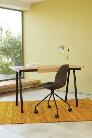 Habitat Scout 1 Drawer Office Desk - Oak