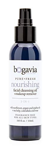 Nourishing Facial Cleansing Oil + Makeup Remover