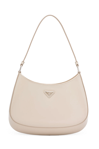 Cleo Brushed Leather Hobo Bag