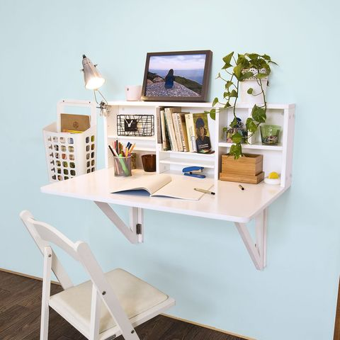 Best Folding Desks 26 Fold Up - How To Make A Fold Down Table