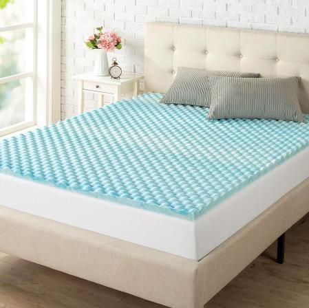 10 in cooling foam mattress topper walmart