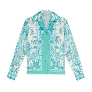 Baroque Print Shirt