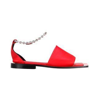 Square Slide Sandals