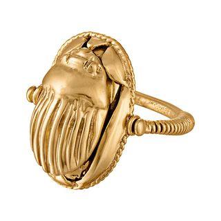 Scarab Amulet Ring