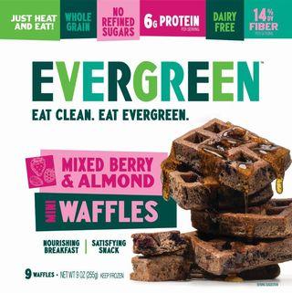 Mixed Berry & Almond Frozen Mini Waffles